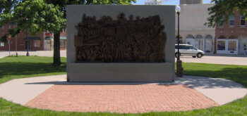 Virden Coal Monument